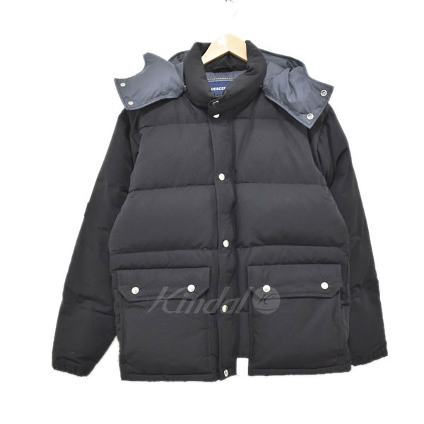 【中古】DESCENDANT 17AW ダウンジャケット mountain hat down jacket 【送料無料】 【289378】 【KIND1551】