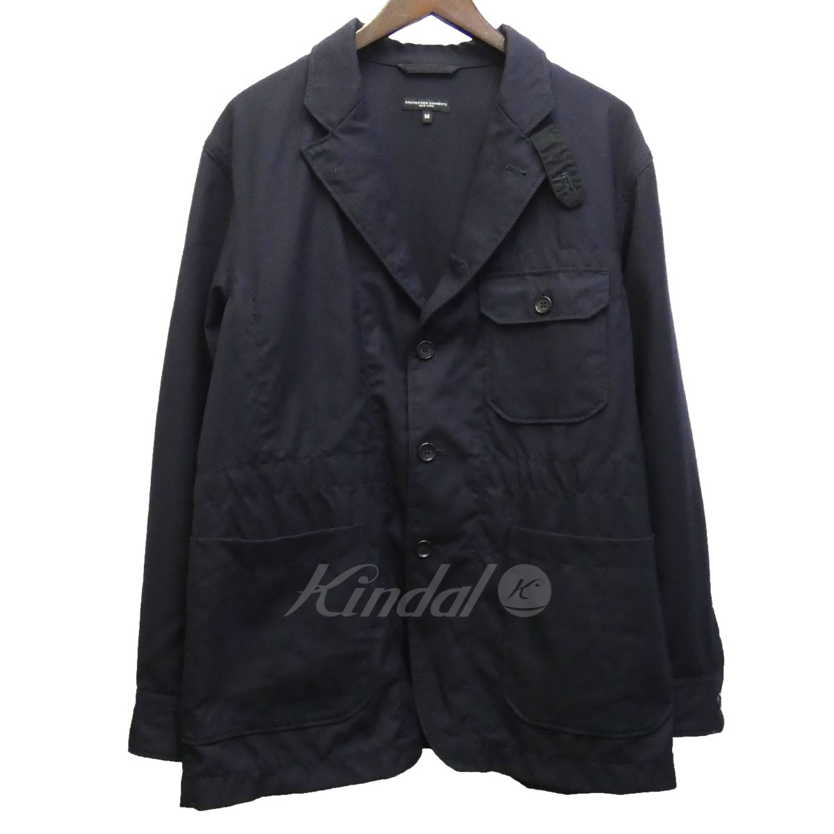 【中古】Engineered Garments 17AW 「Benson Jacket-Uniform Serge」 ベンソンジャケット 【送料無料】 【122019】 【KIND1551】