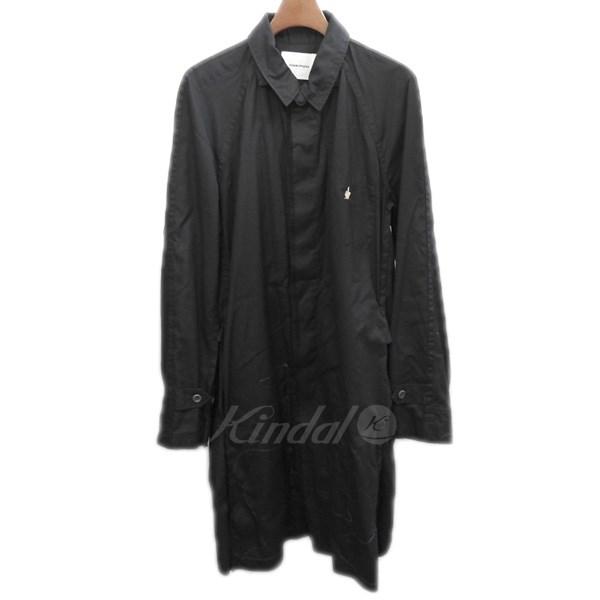 【中古】UNDER COVERISM 2013SS ステッチデザインショップコート ブラック サイズ:2 【送料無料】 【151218】(アンダーカバーイズム)