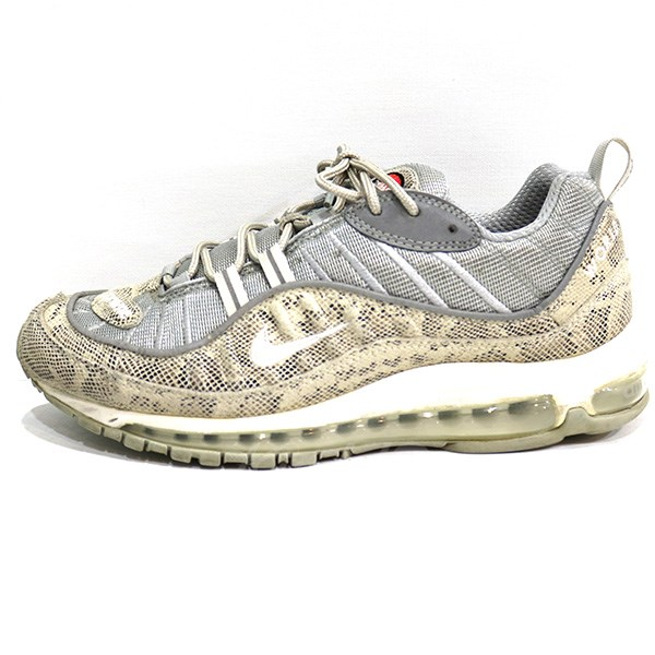 SUPREME X NIKE 16SS AIR MAX 98 Air Max sneakers snake beige system size: 26. 5cm