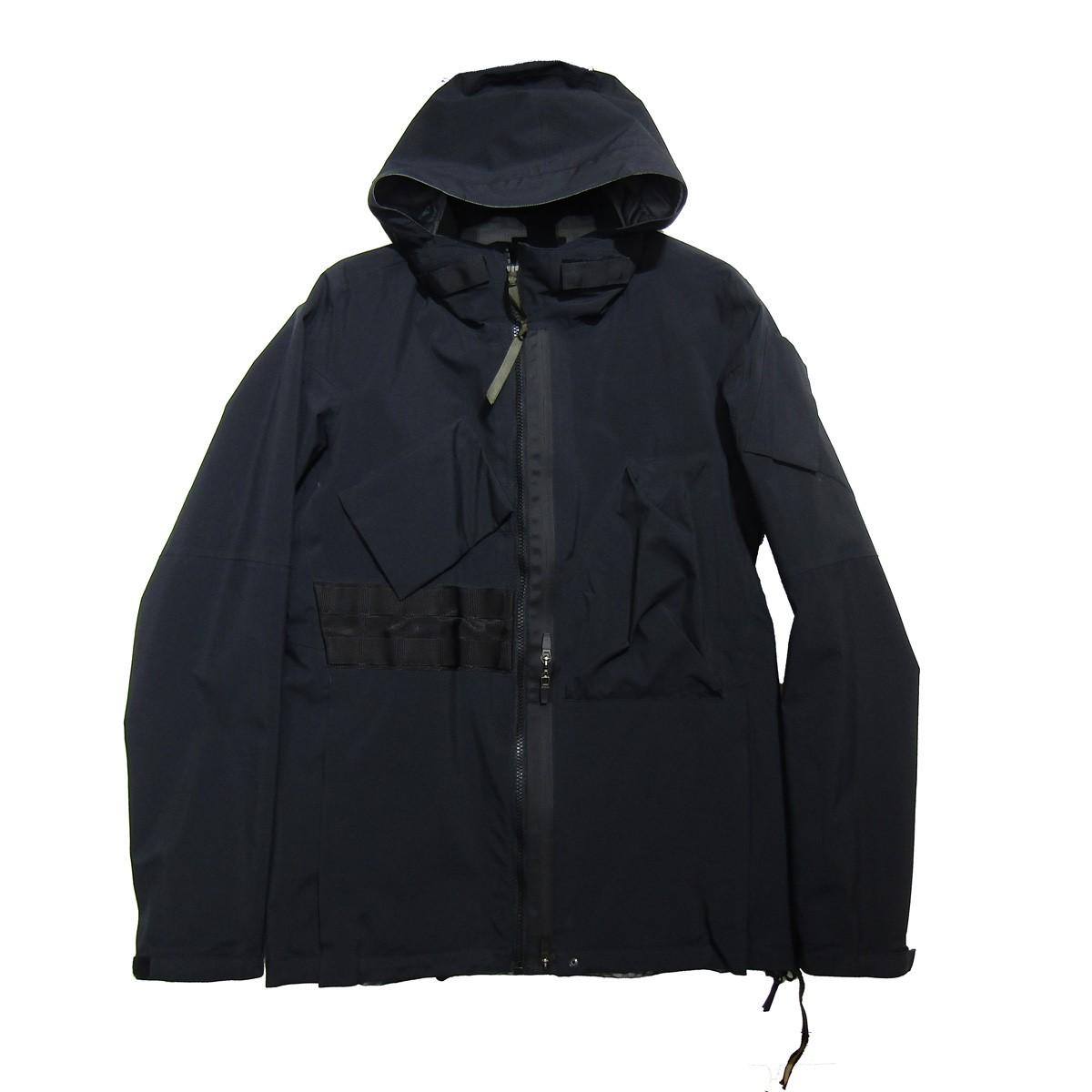 【中古】ACRONYM 3L Gore-TexR Pro Tec Sys Interops Jacket/J47TS-GT ブラック サイズ:M 【250420】(アクロニウム)