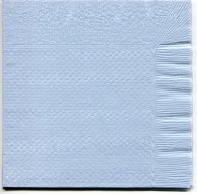【紙ナプキン】4つ折り紙ナプキン「ブルー」(1ケース10,000枚)