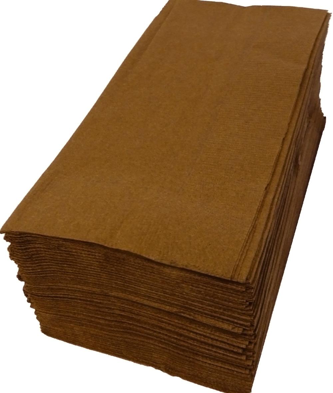 35%OFF カラー2プライナプキン 特売 膝掛けナプキン 50枚パックで取り合わせ自由 紙ナプキン 8つ折り2PLYナプキン 50枚 ブラウン