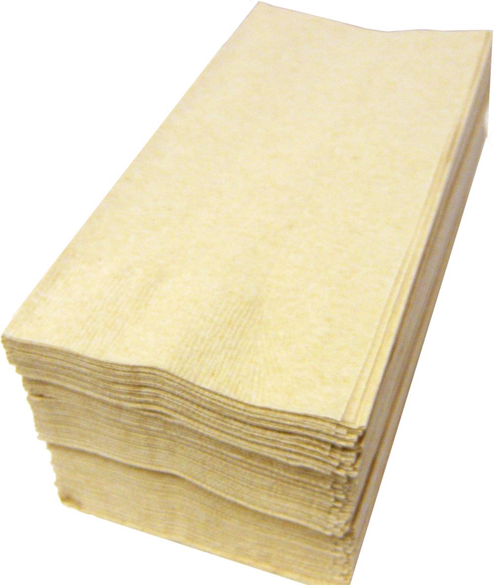 【紙ナプキン】8つ折り2PLYナプキン「ナチュラルカラー未晒」(1ケース2000枚)
