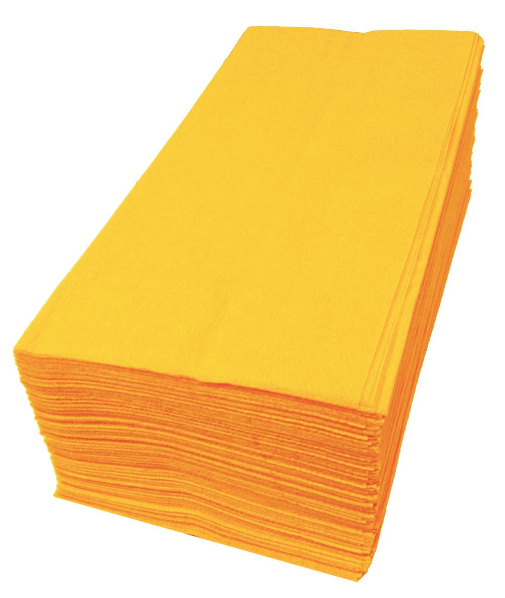 【紙ナプキン】8つ折り2PLYナプキン「オレンジ」(1ケース2000枚)