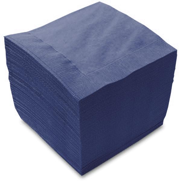 カラー2プライナプキン 4つ折タイプ 激安特価品 10パックでお得なまとめ買い 紙ナプキン 大注目 4つ折り2PLYナプキン 10パック500枚 フレンチブルー