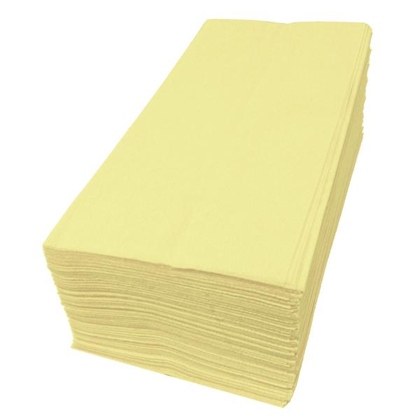 【紙ナプキン】8つ折り2PLYナプキン「イエロー」(1ケース2000枚)