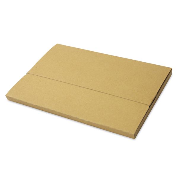 【梱包資材】ヤマト運輸メール便サイズ対応のシンプルなダンボールケース! 【クロネコメール便対応】メール便ボックス(厚み20mm/角2相当サイズ)500枚セット