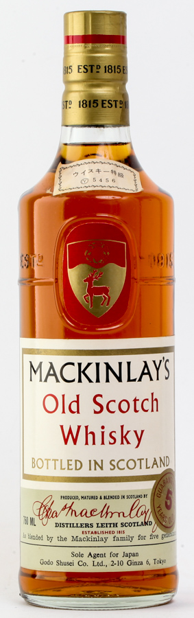 MACKINLAY`S マッキンレー 5年 760ml≪特級表記≫≪ウイスキー≫≪古酒≫ #250 alc