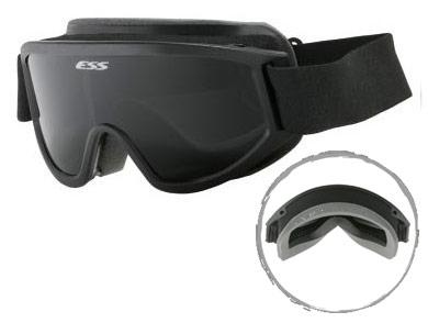 ESS軍用アイギア ASIAN-FIT STRIKER(眼鏡の上からかけれるアジア人向けRX対応ゴーグル)【smtb-TD】