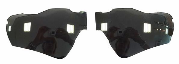 OAKLEY RADAR EV ASIAFIT(オークリー レーダーイーブイ アジアフィット)用金栄堂特許技術採用オリジナルFact®(ファクト)1.60度なしレンズ※本体は付属いたしません・レンズのみとなります。