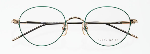 HUSKY NOISE(ハスキーノイズ)日本製・βチタン+チタン合金 メガネフレームH-173【smtb-TD】