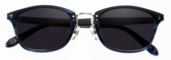SOLID BLUE(ソリッドブルー)日本製・フォールディング(折りたたみ)テクノロジー搭載サングラスS-233【smtb-TD】