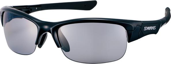 SWANS(スワンズ)日本製ハーフリムスポーツサングラスSPRINGBOK(スプリングボック) 0051 カラー:ブラック/反射光を抑える偏光スモークレンズ【smtb-TD】