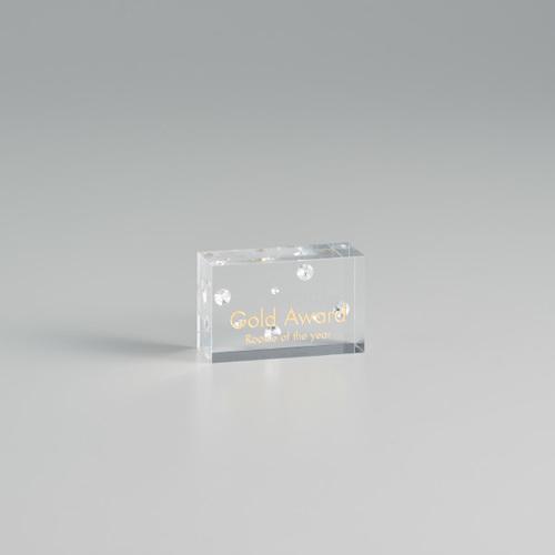 アクリル製封入オーナメント A90-01C ★高さ50mm