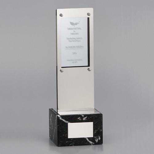 アクリル板付金属製オーナメント A98-02A ★高さ310mm