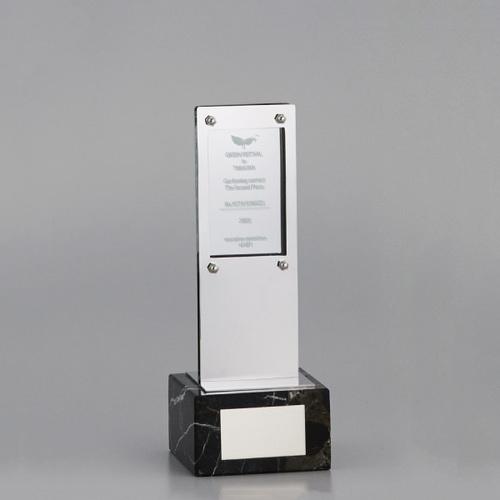 アクリル板付金属製オーナメント A98-02B ★高さ247mm