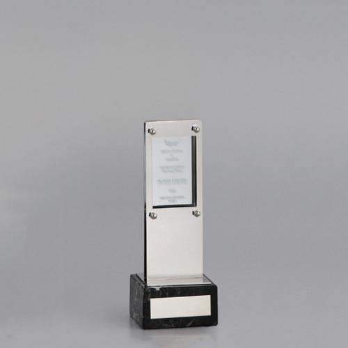アクリル板付金属製オーナメント A98-02C ★高さ195mm