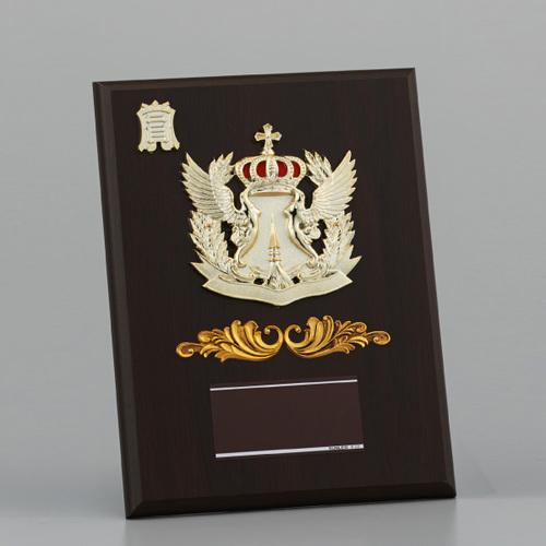 表彰楯(表彰盾) 王冠 AT-2482B ★高さ260mm 《#B12》