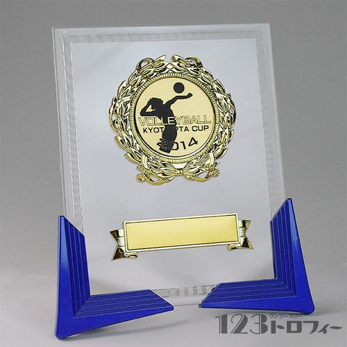 【オリジナルデザインができる表彰楯(表彰盾)】 ATZ-2471 ★高さ205mm 《17×76》台座プレート金