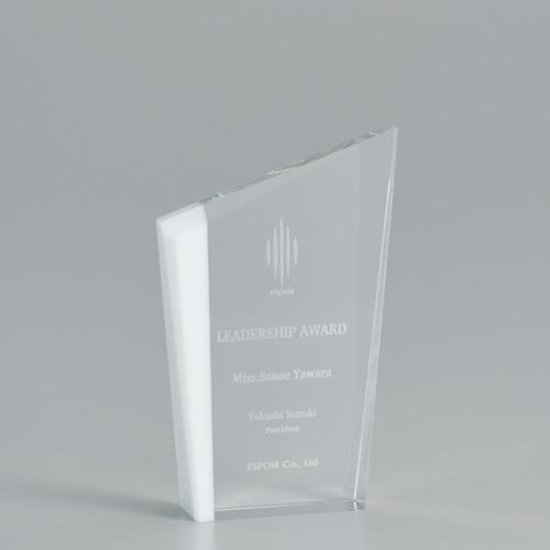 【版代別途必要】光学ガラス製オーナメント B44-02C ★高さ150mm