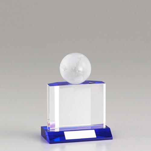 【版代別途必要】光学ガラス製オーナメント B51-02B ★高さ135mm
