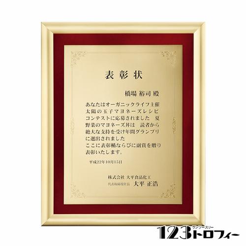 【版代別途必要】アルミ製額 B66-01B ★高さ270mm