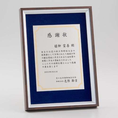 【版代別途必要】アルミ製額 B66-03 ★高さ320mm