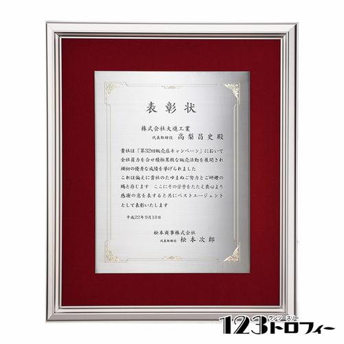 【版代別途必要】アルミ製額 B66-06A ★高さ375mm