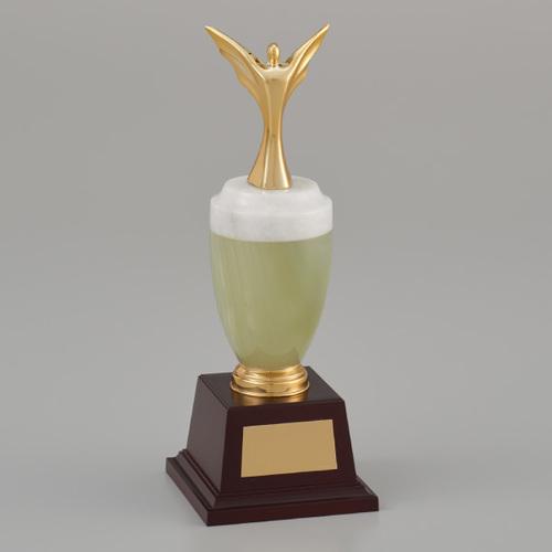 社内表彰制度やサッカー 野球などスポーツ大会の表彰式でご利用いただいております ゴルフコンペでのご利用も 大注目 デザイン料 爆安プライス 文字彫刻料無料のブロンズトロフィー 高さ233mm 《BG15》 BR-2698A ブロンズトロフィー女神