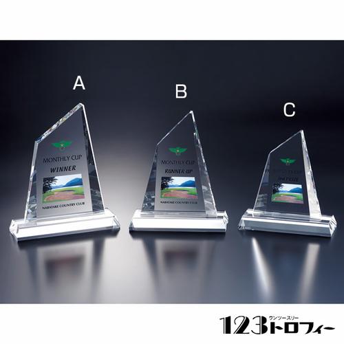光学ガラス製オーナメント E00-01C ★高さ165mm