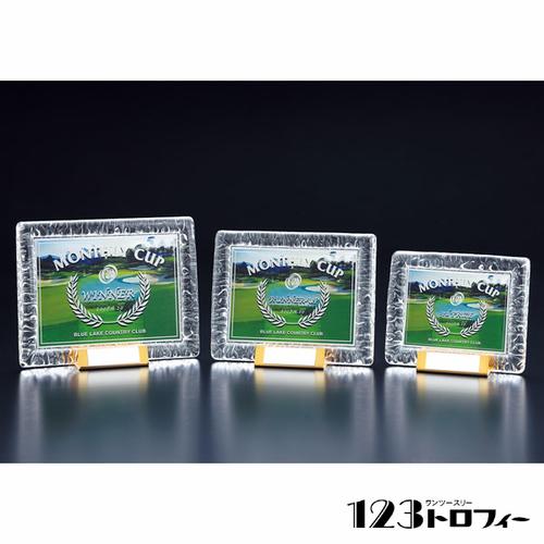 ガラス製楯 E00-02A ★高さ163mm
