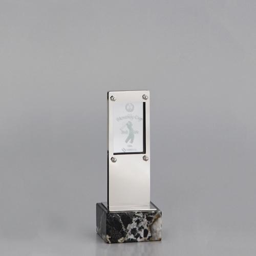アクリル板付金属製オーナメント E96-04C ★高さ195mm