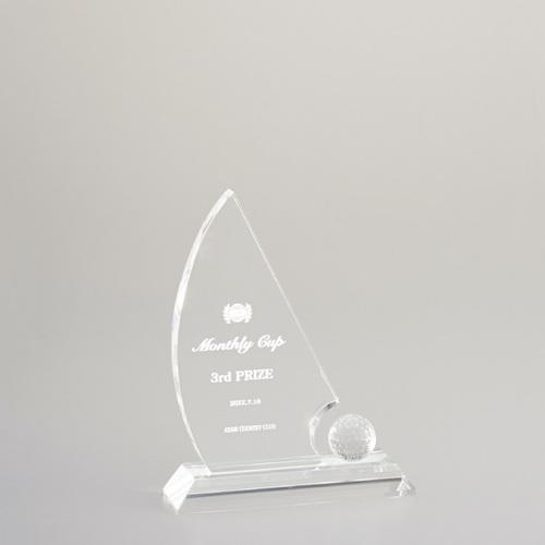 光学ガラス製オーナメント E99-02C ★高さ180mm