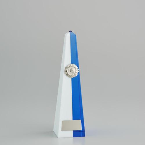 クリスタルオーナメント YC-2961B ★高さ250mm 《BS15》