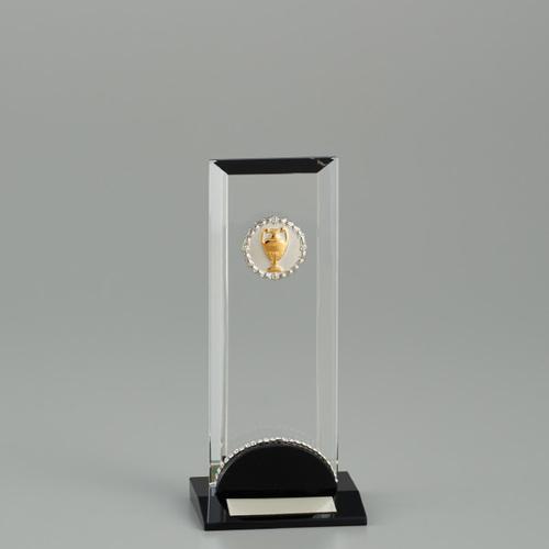 クリスタルオーナメント YC-2966C ★高さ165mm 《SO-110》