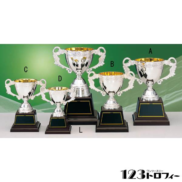 ★ 優勝カップ シルバーカップ AS6025A★高さ225mm《E-4》プレート彫刻無料(ゴルフコンペ レプリカ 野球サッカー 体育祭 運動会 文化祭)