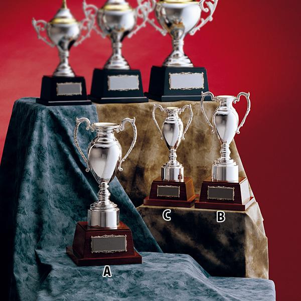 優勝カップ シルバーカップ RS-8114A★高さ390mm《ASH-4》 プレート色:銀 プレート彫刻無料 送料無料(ゴルフコンペ レプリカ 野球サッカー 体育祭 運動会 文化祭)