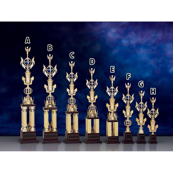 トロフィー T8812B ★高さ760mm《H-5》選べる競技108種類★名入れ彫刻無料 ゴルフコンペ 野球 サッカー バレー バスケットボール スポーツ大会 優勝記念品