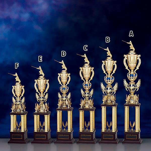 トロフィー T8714E ★高さ560mm《H-3》選べる競技108種類★名入れ彫刻無料 ゴルフコンペ 野球 サッカー バレー バスケットボール スポーツ大会 優勝記念品
