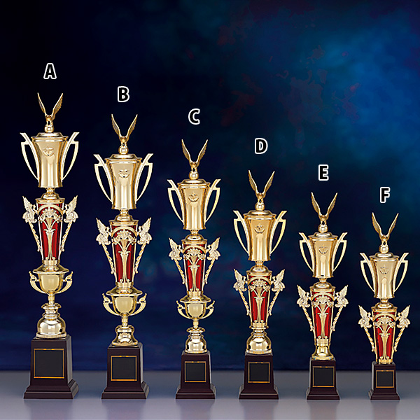 トロフィー T8720C ★高さ580mm《B-1》選べる競技108種類★名入れ彫刻無料 ゴルフコンペ 野球 サッカー バレー バスケットボール スポーツ大会 優勝記念品