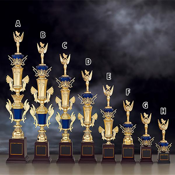 トロフィー T8729A ★高さ610mm《B-2》選べる競技108種類★名入れ彫刻無料 ゴルフコンペ 野球 サッカー バレー バスケットボール スポーツ大会 優勝記念品