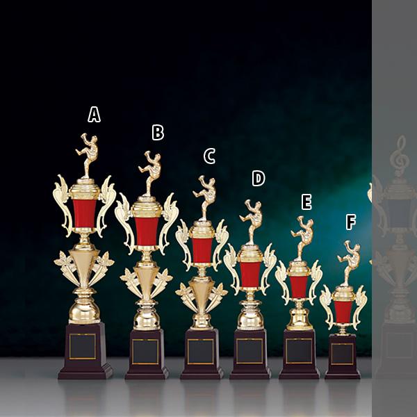 トロフィー T8846E NEW売り切れる前に☆ 高さ300mmプレート彫刻無料 デザイン料無料 高さ300mm《B-1》選べる競技108種類 名入れ彫刻無料 ゴルフコンペ バレー 優勝記念品 サッカー スポーツ大会 野球 バスケットボール 営業