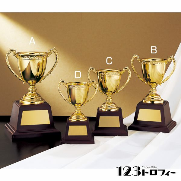 優勝カップゴールドカップ NO-2528B ★高さ251mm 《BG12》
