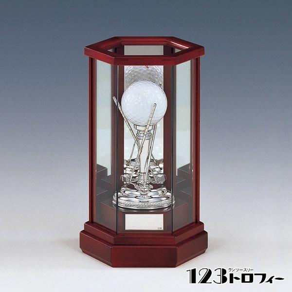 銀製品 ゴルフ用 トロフィー NS-1140 ★高さ190mm 《15×38》 ★プレート彫刻無料 ★送料無料