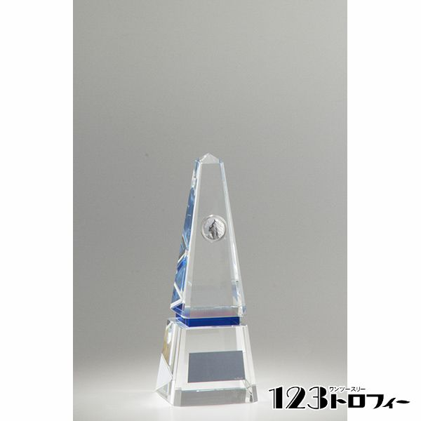 クリスタルオーナメント YC-2928D ★高さ200mm 《BS15》