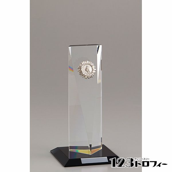 クリスタルオーナメント YC-2971C ★高さ212mm 《MS60》