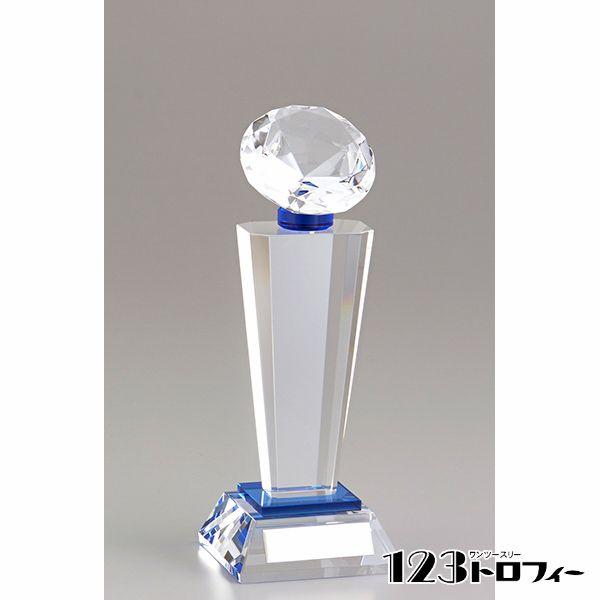 クリスタルオーナメント YC-2975B ★高さ205mm 《SO-110》