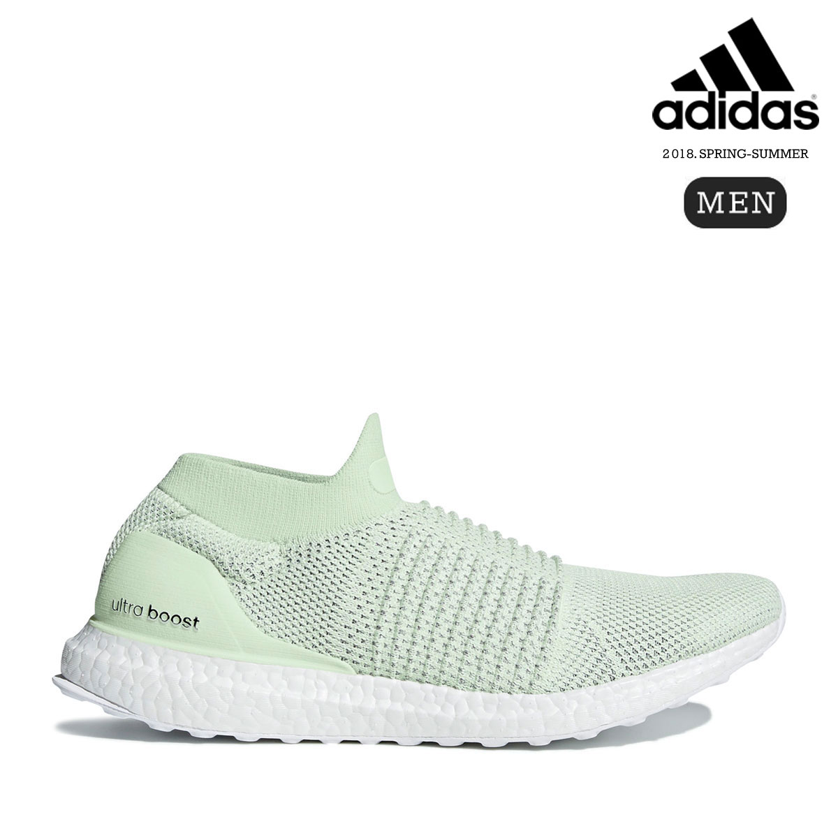 adidas UltraBOOST LACELESS LTD (Ash Green/Aero Green/Running White) 【メンズサイズ】【18SS-I】