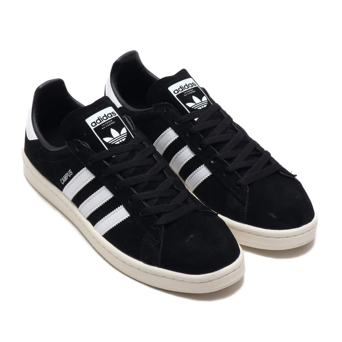 cc731113dcef Kinetics  adidas Originals CAMPUS (Core Black Running White Chalk ...